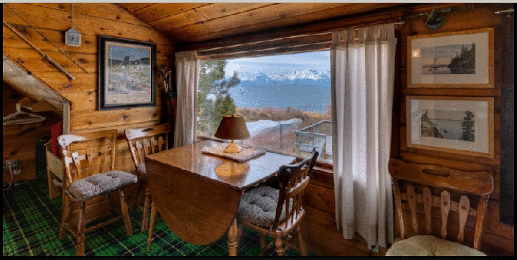 Lake Tahoe Waterfront Cabin Photos